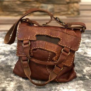 Lucky Brand 100% Lamb Skin Abbey Road Handbag